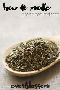 Green tea extract: all of green tea's benefits in a potent, concentrated form. You can buy it, but it's NOT hard to learn how to make green tea extract!