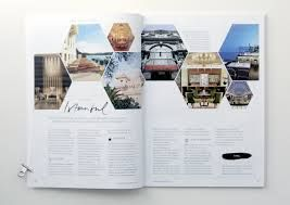 travel magazine layout design - Google Search