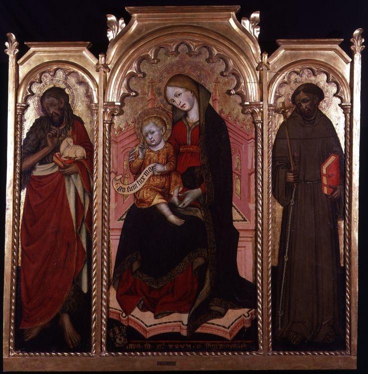 Madonna col Bambino e Santi di Guglielmetto Fantini a Palazzo Madama