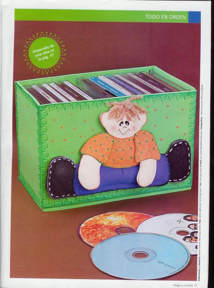 Manualidades en foamy para vender revista de - Manualidades faciles de vender ...