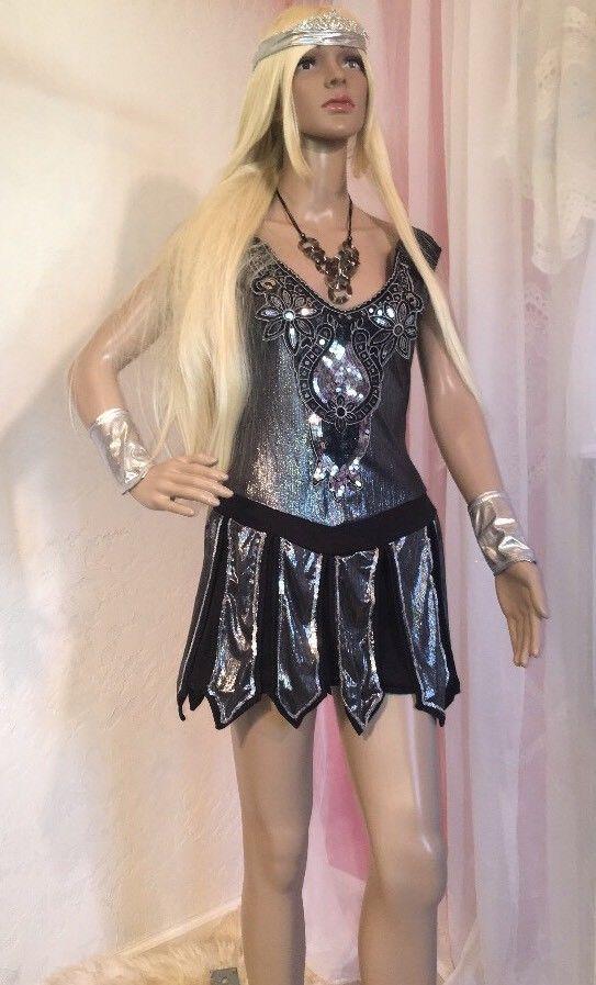 "Dreamgirl Sz M Medieval Costume Roman Warrior Queen 7Pc Stretch ""One Hot Knight""  | eBay"