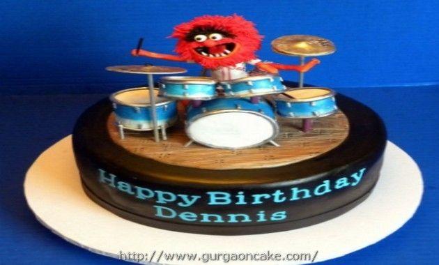 Drum Birthday Cake Design Picture