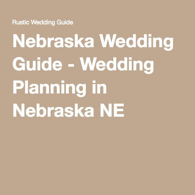 Nebraska Wedding Guide - Wedding Planning in Nebraska NE