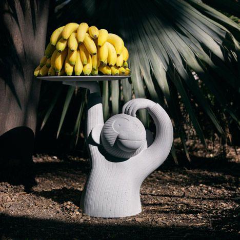 Jaime Hayón designs monkey-shaped table.