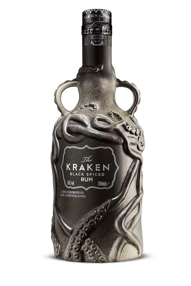 Empty wade ceramic kraken rum bottle 2018 limited edition - Kraken rum pictures ...