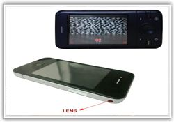 Hidden lens in phone in delhi useful to all cards playing lovers, it use very easily to win game hidden lens in phone in india, buy from our spy store.