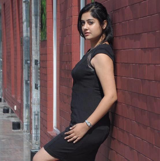 Ronica Singh Bedi Hot Black Dresses