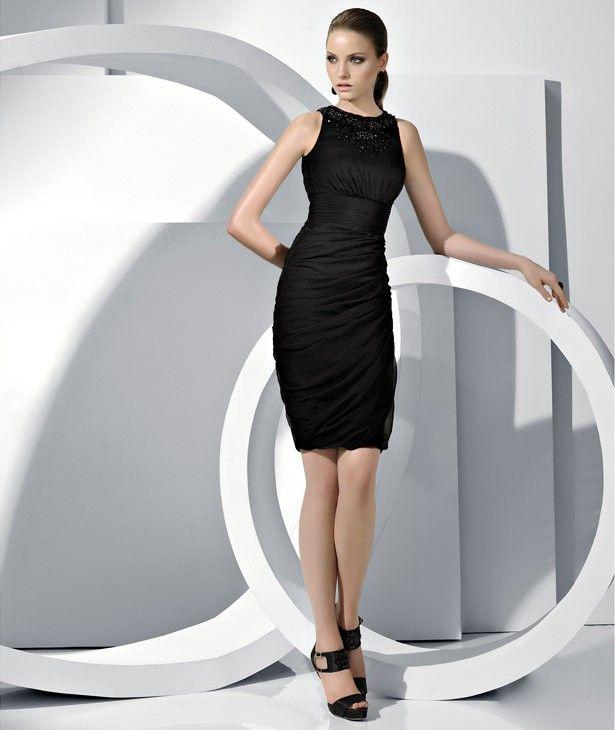 Best black dresses 2012