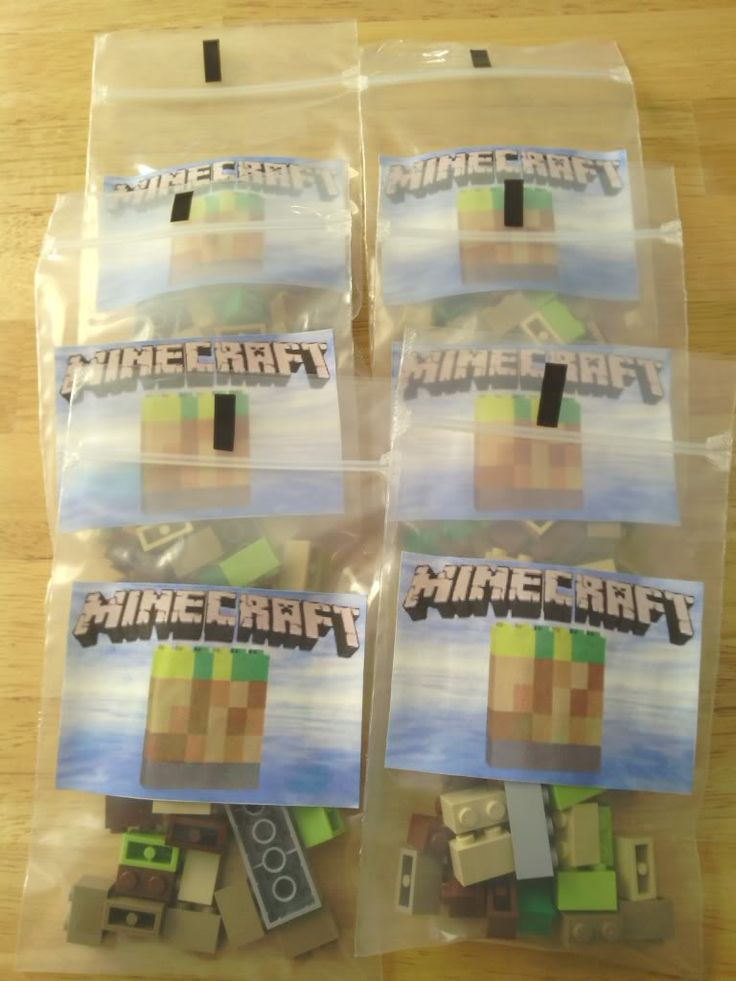 Minecraft Party ideas - Page 2 - ClothDiaperNation