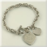 Simply Stainless Tiffany Style Medical Id Bracelet