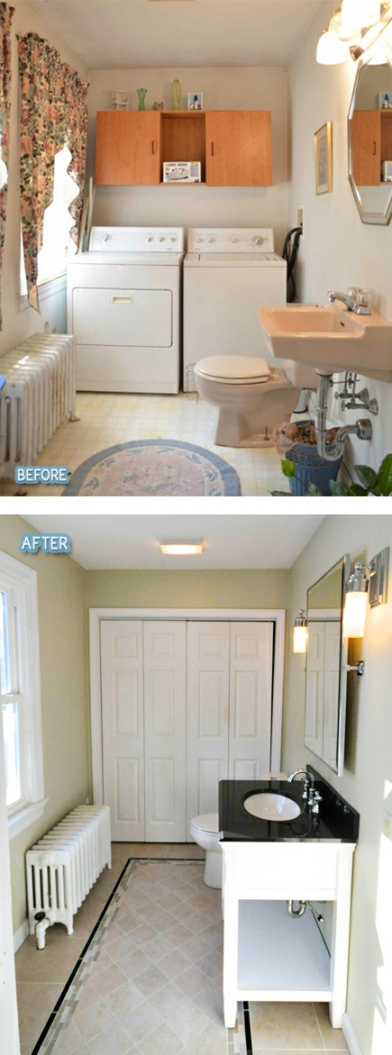 Painting Linoleum Floors Laundry Rooms
