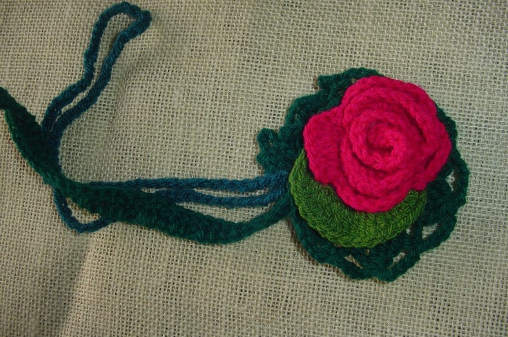 Crochet pins for coats, hats or wherever you want!