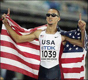 Jeremy Wariner 400 m USA