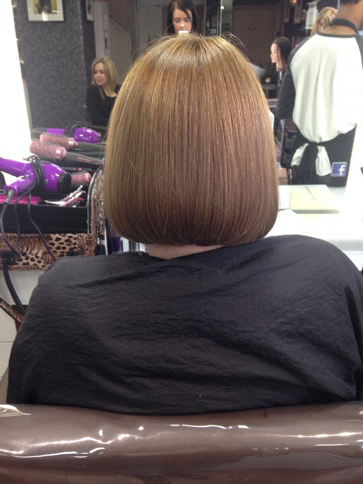 Bob haircut with all over tint!