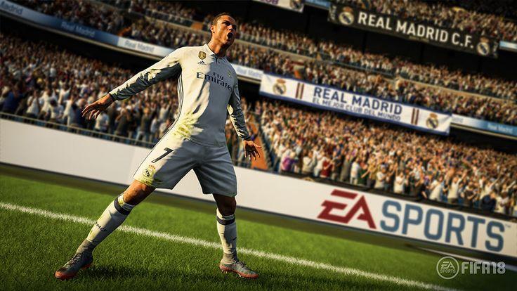 FIFA 18: ecco il trailer di presentazione e le prime immagini con CR7 Electronic Arts pubblica il trailer di presentazione e le prime immagini di FIFA 18 con CR7 #fifa18 #giochi #cr7 #ps4