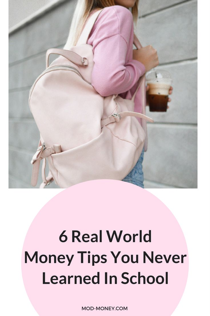 Schools aren't teaching the personal finance skills we need to thrive in the real world. These money tips will guide new grads as they manage their money independently and navigate the adult world.