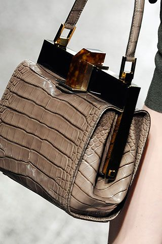 Lanvin crocodile bag
