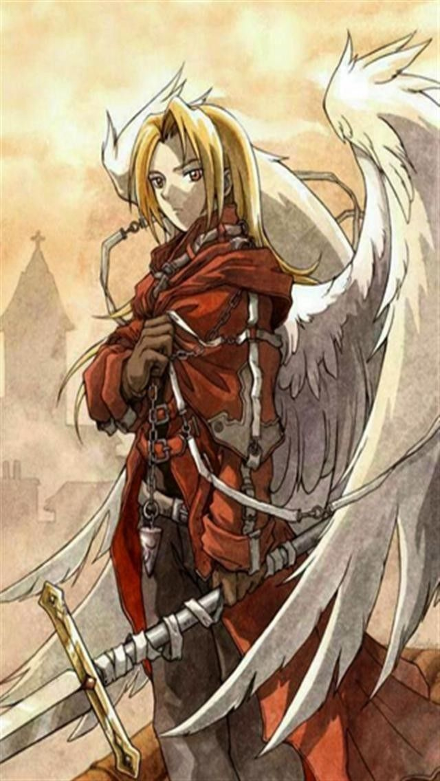 fullmetal alchemist I love the wings