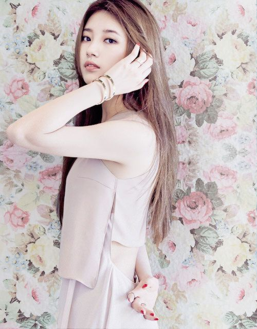 Suzy (Miss A)   Of Blush, Floral & Wallpaper Bouquets.