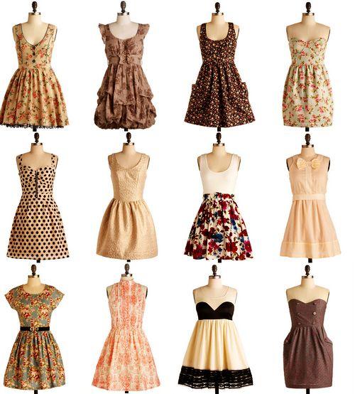 dresses!: Pretty Dresses, Summer Dresses, Fashion, Beauty Dresses, Clothing, Dream Closet, Cute Dresses, Vintage Dresses, Styles