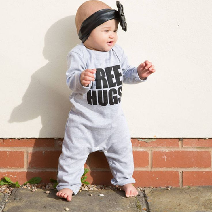 Free Hugs Cool Baby Grow / All In One