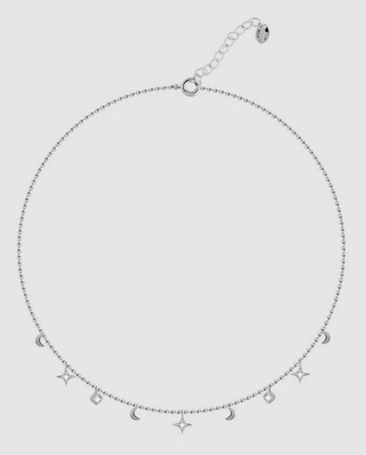 fe033153e168 Collar Agatha Paris de plata y circonitas | Wishlist | Plata ...