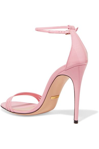 Gucci - Patent-leather Sandals - Baby pink