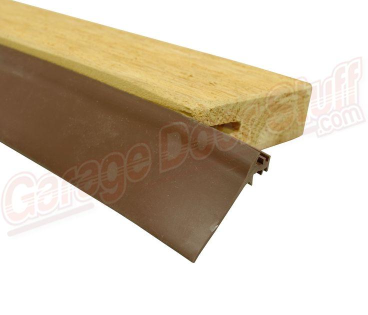 Best 25 garage door weather seal ideas on pinterest for Garage door stop molding weather seal