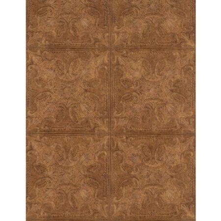 Soft Raised Linen Te Wallpaper Tin tiles, Tile wallpaper