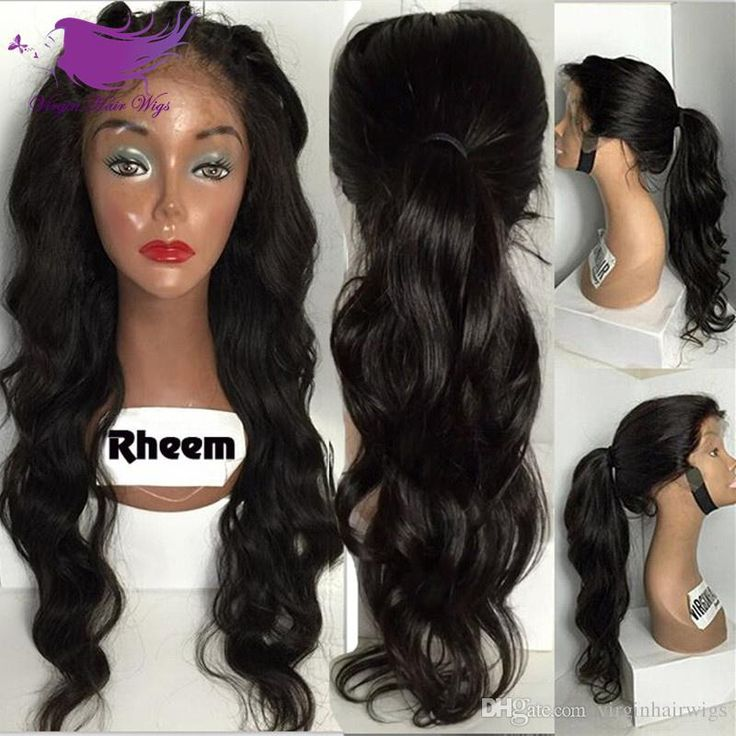 Malaysian Human Hair Lace Front Wig Body Wave Full Lace Human Hair Wig With Baby Hair 7A Glueless Lace Wig Online with $72.37/Piece on Virginhairwigs's Store | DHgate.com