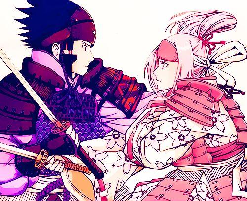 Naruto Shippuden - sakura & sasuke