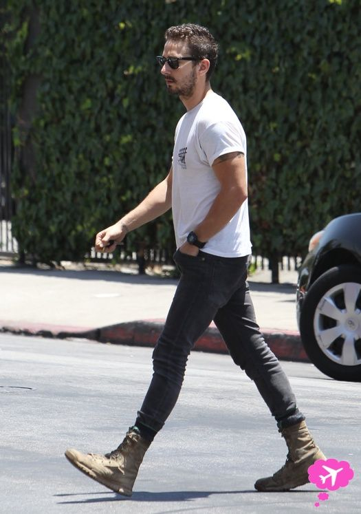 Shia LaBeouf Concerned Onlookers As He Chased A Homeless Man Before His Arrest