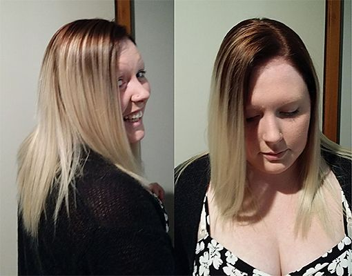Golden Brown to Blonde Ombre, hairserenity