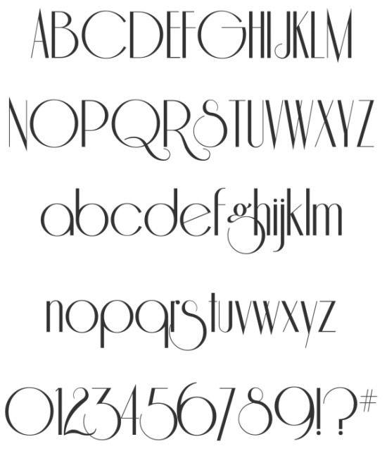 17 Best Ideas About Retro Font On Pinterest