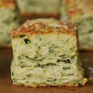 Scones mit Bärlauch und Käse