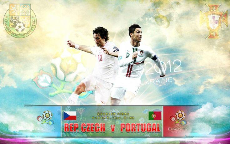 Rep. Czech vs Portugal Quarter Final Euro 2012 Best Wallpaper