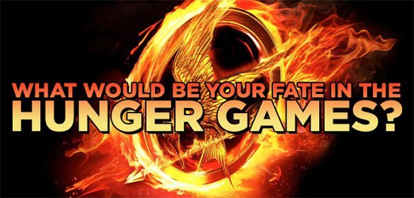 What Would Be Your Fate In The Hunger Games? *click on image for quiz* I won through brute strength!