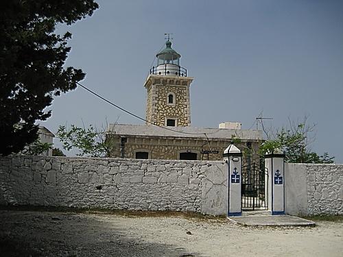Lakas Lighthouse, Paxoi islands,Greece