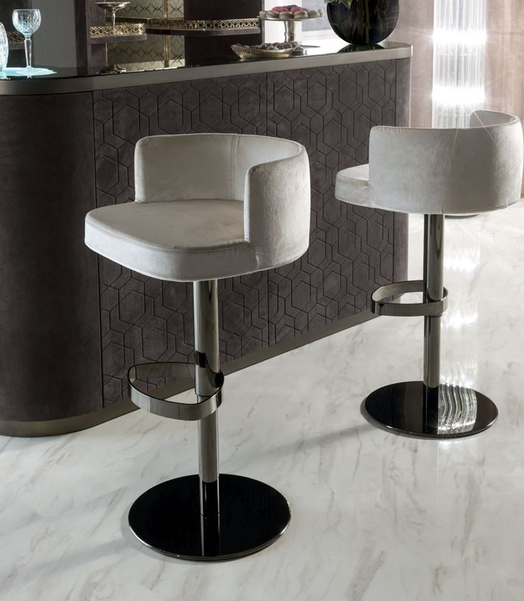 Swivel Height Adjustable Chair With Armrests KELLY By Fratelli Longhi  Design Giuseppe Iasparra