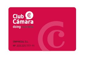 Superamos los 2.500 SOCIOS ¿Todavía no eres socio del CLUB CÁMARA? ¿A qué esperas? Disfruta ya de nuestras ventajas