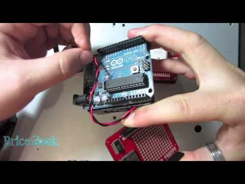 Tutorial Arduino: GPS Logger con EM406A, GPS shield y MicroSD shield - YouTube