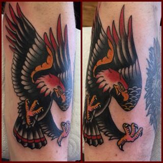 traditional eagle wing tattoo - Google Search