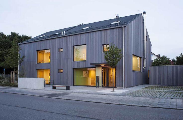 die besten 25 architekten m nchen ideen auf pinterest b rogeb ude in der architektur modern. Black Bedroom Furniture Sets. Home Design Ideas
