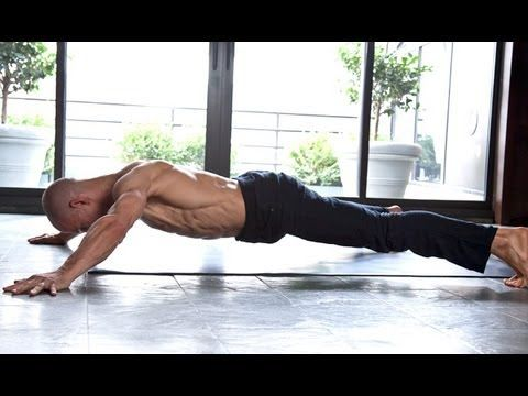 6-Pack Ab Workout by Equinox... ISOMETRIC WORKOUT hard and cool