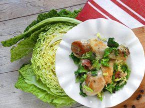 Cosce di pollo alla verza | Scopri tutte le Ricette Fileni.