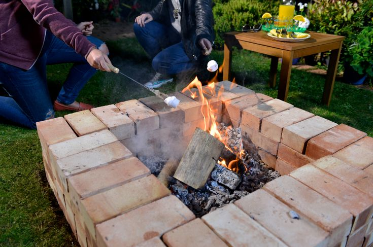 Build your very own BBQ fire pit with Wickes easy to follow step-by-step guide and video
