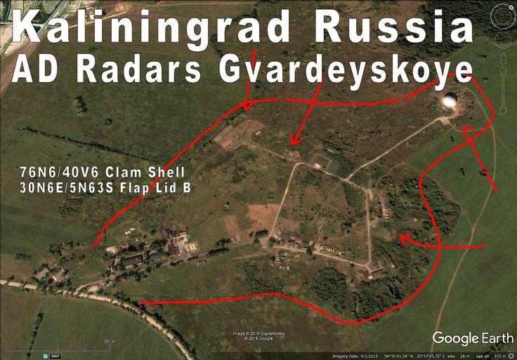 Heavy Air Defense radar site.