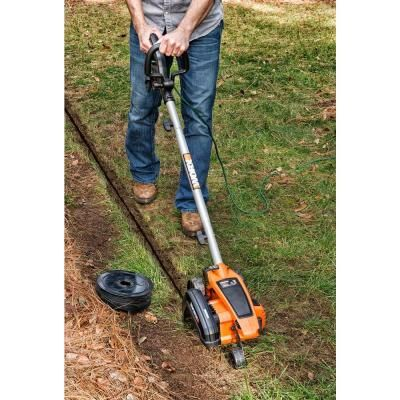 Worx 7.5 in. 12 Amp Electric Lawn Edger-WG896 - The Home Depot