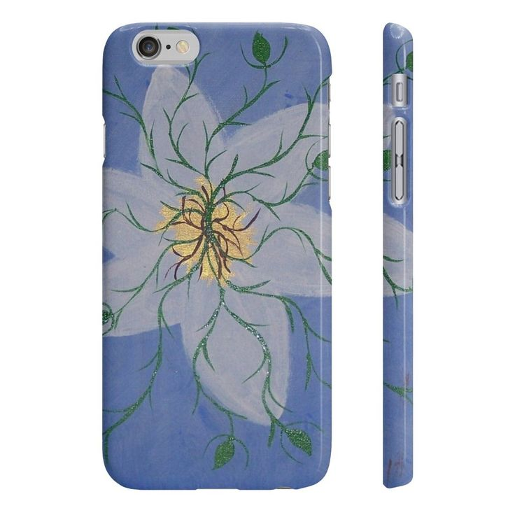 Alunga in Flower EMK Wpaps Slim Phone Cases