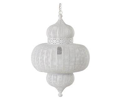 Hanglamp Anna, wit, Ø 45 cm